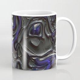 Luxury black molten metal Coffee Mug