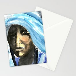 touareg woman Stationery Cards
