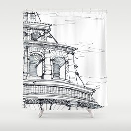 Rome Coloseo Shower Curtain