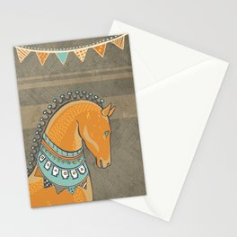 Horse Head - Chocolate Stationery Cards