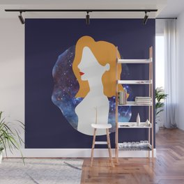 Galactic ginger beauty Wall Mural