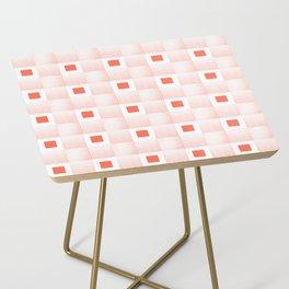 Rachel's Wavy Coral Pattern Side Table