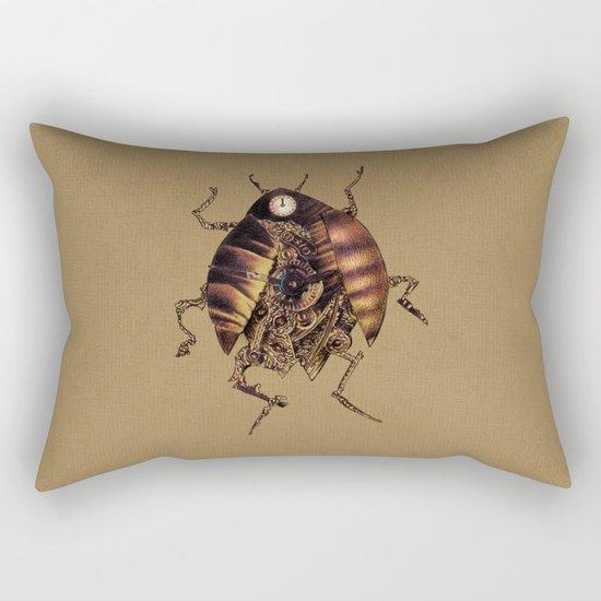 Clock Beetle Rectangular Pillow