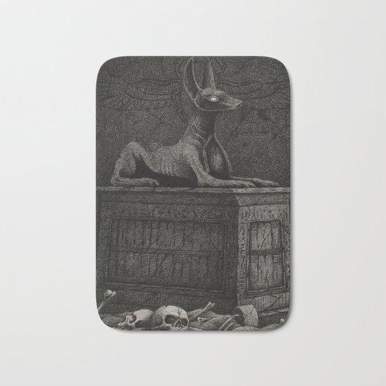 Anubis Shrine Bath Mat
