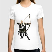legolas T-shirts featuring Legolas - Orlando Bloom by Ayse Deniz