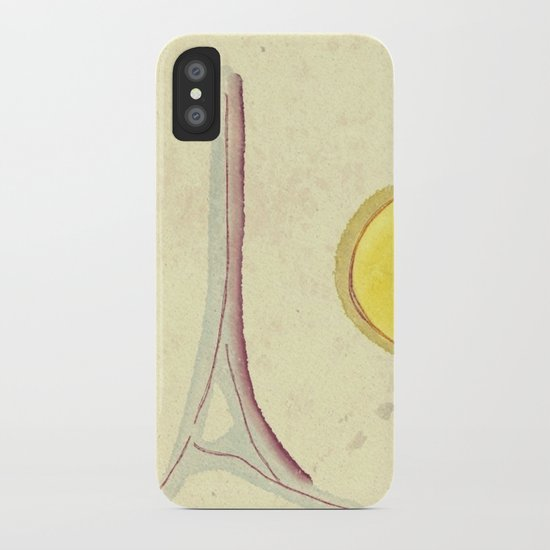 afternoon in paris iPhone Case