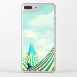 circus tent 2 Clear iPhone Case