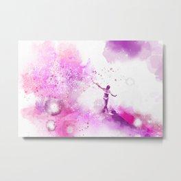 Dances on Water Metal Print