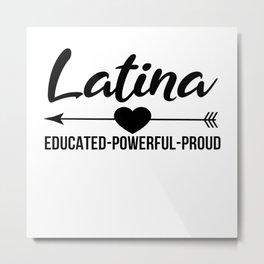 Latina Outfit Metal Print