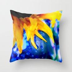 :: Liquid Sunshine :: Throw Pillow