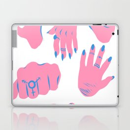 trans hands Laptop & iPad Skin