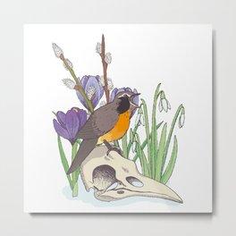 Hello, spring! Metal Print