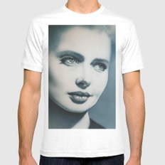 Isabella MEDIUM White Mens Fitted Tee