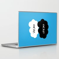 okay Laptop & iPad Skins featuring Okay by D-fens