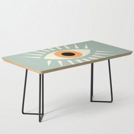 Yellow Eye Coffee Table