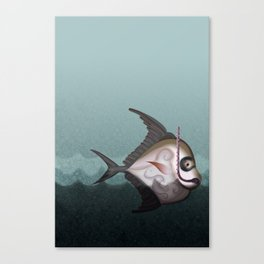 Fish from the Abyss Canvas Print