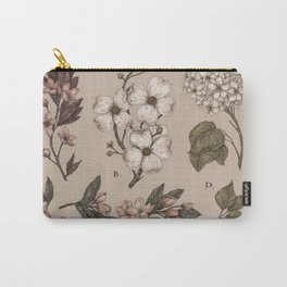 Flowering Spring Trees Carry-All Pouch