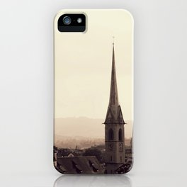Clock Tower 2 iPhone Case