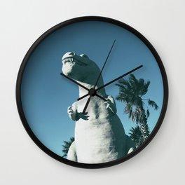 Cabazon Dinosaurs Wall Clock
