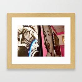Elvis, Marilyn Monroe, Johnny Cash Framed Art Print