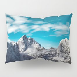 Jalovec mountain in Slovenia Pillow Sham
