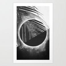 Solar Palm One Art Print