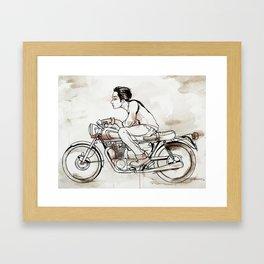 Red Hornet Framed Art Print