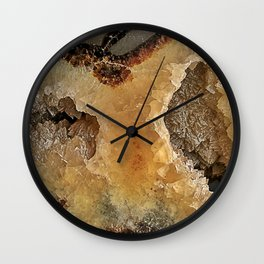 Septarian Nodule Wall Clock