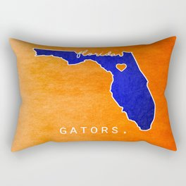 Gators Rectangular Pillow
