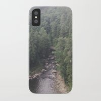 tennessee iPhone & iPod Cases featuring Tennessee Creek by Holley Maher