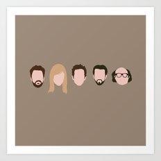 The Gang (It's Always Sunny) Art Print