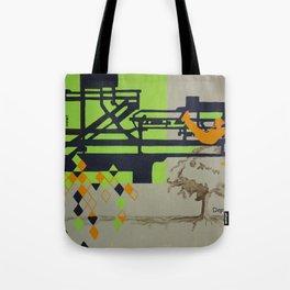Childhood Imagination, Acrylic Painting Tote Bag
