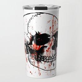 Skull | Skull head | Human skull | Skull love | Goth aesthetic | Bones | Skull decor | Skull design Travel Mug