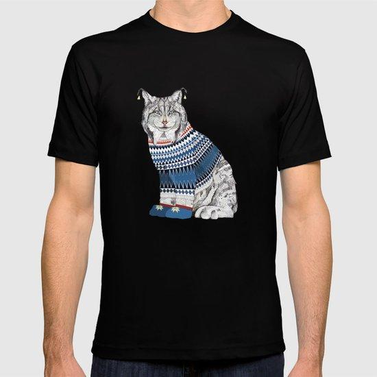 Christmas Lynx // Festive Furries No.1 T-shirt