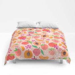 Apricot, Nectarine, & Peaches Comforters