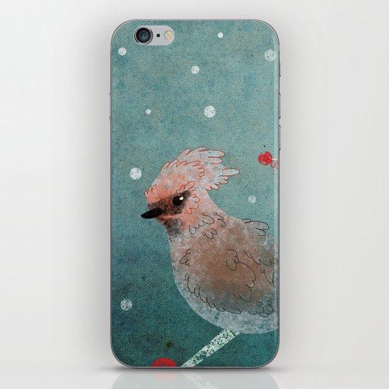 Tweet in the Snow iPhone & iPod Skin