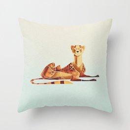 Cheetah 2 Throw Pillow