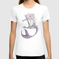 siren T-shirts featuring Siren  by Jo Sharp