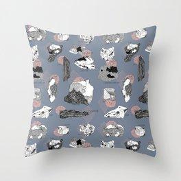 Mineral Rocks  Throw Pillow