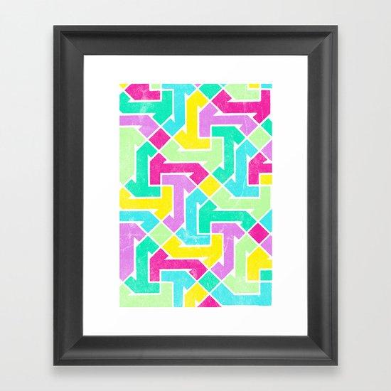 Azimuth Framed Art Print