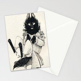 DOMESTIC WEREWOLF Stationery Cards