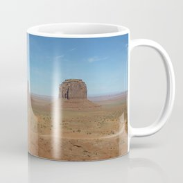 Monument Valley famous panorama  Coffee Mug