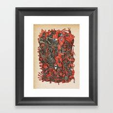 - sensitivity - Framed Art Print