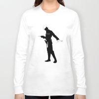 luke hemmings Long Sleeve T-shirts featuring Luke Trap by michael newton