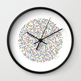 Walium by Damian Hers (Signed) Wall Clock