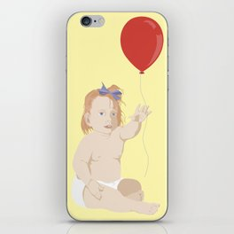 BOW BABY iPhone Skin
