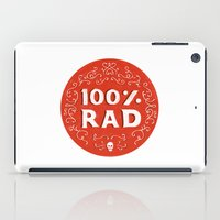 the 100 iPad Cases featuring 100% Rad by Chase Kunz
