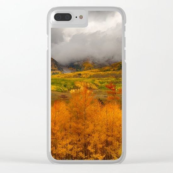 Colorado Fall Colors Clear iPhone Case
