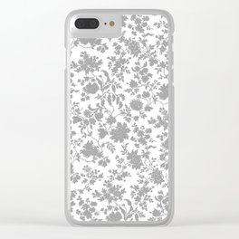 grey liberty Clear iPhone Case