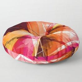 Outbreak - Geometric Abstract Art Floor Pillow